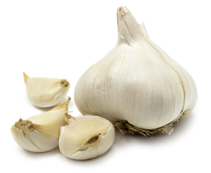 Garlic works with your gut to protect your cardio health
