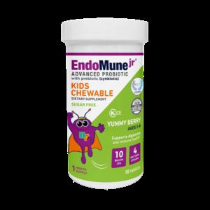 EndoMune Kids Probiotics Chewable Bottle